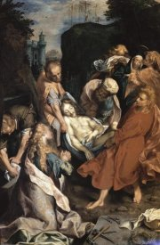 Frederico Barocci - Christ Entombed