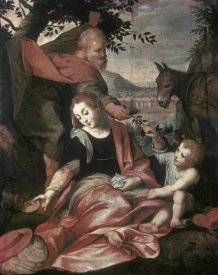 Frederico Barocci - Flight Into Egypt