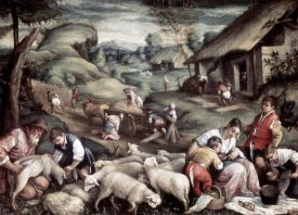 Francesco Bassano II - Summer