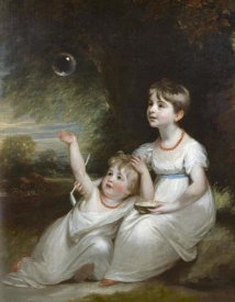William Beechey - Giorgiana and Anna Waller