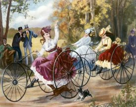 Henry Bell - Tricyclists In The Park