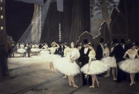 Jean Beraud - Backstage at The Opera