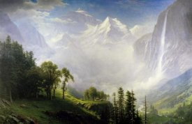 Albert Bierstadt - Majesty Of The Mountains