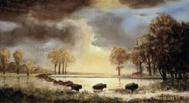 Albert Bierstadt - The Buffalo Trail, 1867