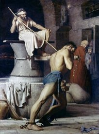 Carl Bloch - Samson On The Treadmill