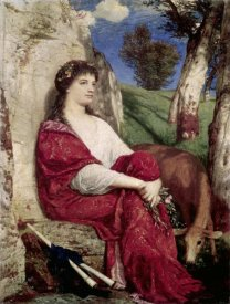 Arnold Bocklin - Euterpe; Muse of Music and Lyric Poetry