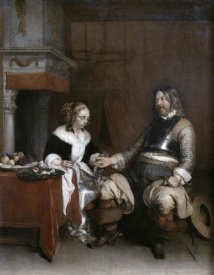 Gerard ter Borch - Gallant Soldier