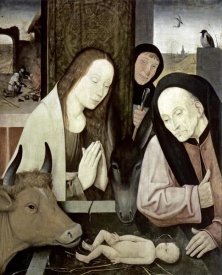Hieronymus Bosch - Adoration of The Holy Child