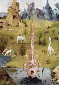 Hieronymus Bosch - Garden of Earthly Delights - Detail #2