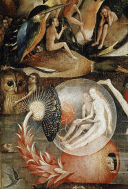 Hieronymus Bosch - Garden of Earthly Delights - Detail #7