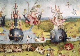 Hieronymus Bosch - Garden of Earthly Delights - Detail Center Panel