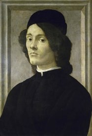 Sandro Botticelli - Portrait of a Manlate