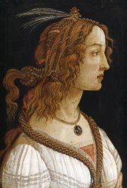 Sandro Botticelli - Portrait of a Young Woman