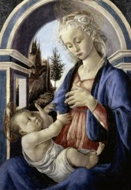 Sandro Botticelli - Virgin and Child
