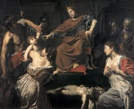 Jean Valentin de Boulogne - Judgement of Solomon