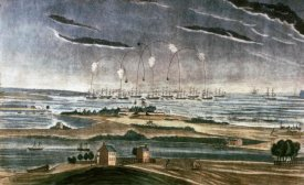 John Bower - Bombardment of Fort Mchenry