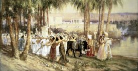Frederick Arthur Bridgman - Egyptian Procession
