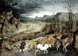 Pieter Bruegel the Elder - Return of the Herd