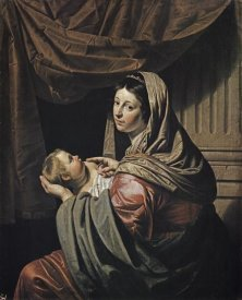 Jan van Bylert - Madonna & Child