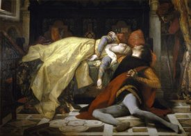 Alexandre Cabanel - Death of Francesca De Rimini and Paolo Malatesta