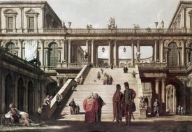 Canaletto - Castle Yard
