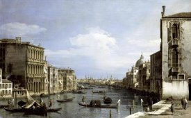 Canaletto - Grand Canal, Venice From Camp0 Di San Vio