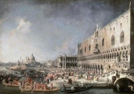 Canaletto - Reception of French Ambassador In Venice