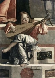 Vittore Carpaccio - Child With a Lute