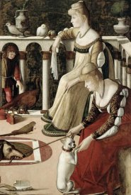 Vittore Carpaccio - Two Venetian Ladies - The Courtesans
