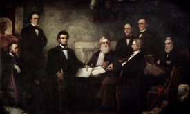 Francis Bicknell Carpenter - The First Reading of the Emancipation Proclamation