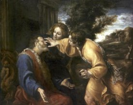 Annibale Carracci - Tobias Heals His Blind Father
