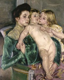 Mary Cassatt - Child's Caress