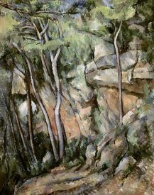 Paul Cezanne - In The Park of Chateau Noir