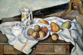 Paul Cezanne - Peaches & Pears