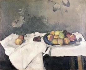 Paul Cezanne - Plate of Peaches