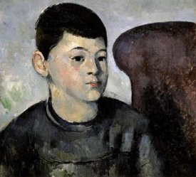 Paul Cezanne - Portrait of the Artist's Son