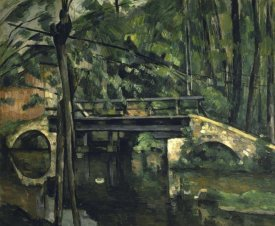 Paul Cezanne - The Bridge at Maincy (Le Pont de Maincy)