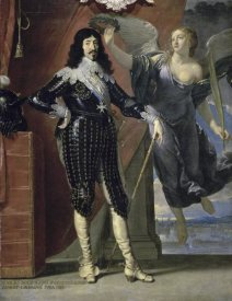 Philippe de Champaigne - Louis Xiii Crowned By Victory