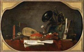Jean-Baptiste-Siméon  Chardin - Attributes of Music