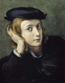 Correggio - Portrait of a Young Man