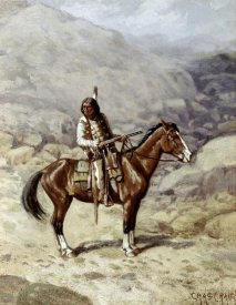 Charles Craig - Indian On Horseback