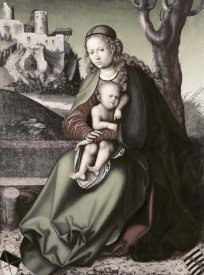 Lucas Cranach - Madonna & Child
