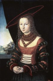 Lucas Cranach - Portrait of a Lady