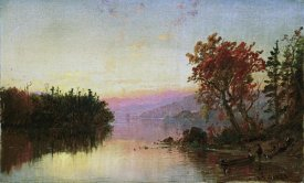 Jasper Francis Cropsey - Greenwood Lake at Twilight