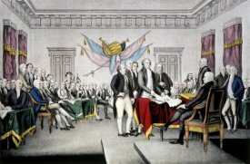 Currier and Ives - Declaration of Independence