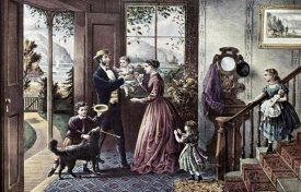 Currier and Ives - Four Seasons of Life: Middle Age