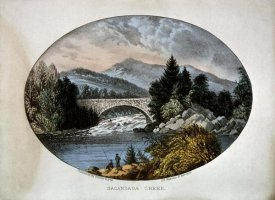 Currier and Ives - Sacandaga Creek