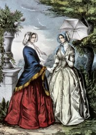 Currier and Ives - Sisters