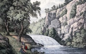 Currier and Ives - Tallulah Falls, Georgia