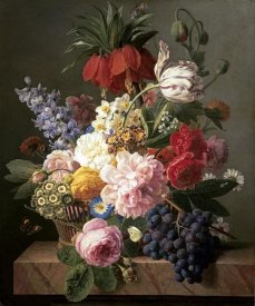 Jan Frans van Dael - Flowers and Fruit
